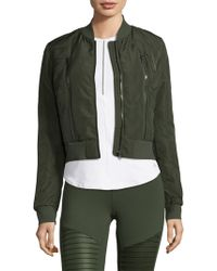 Alo Yoga - Off-duty Bomber Jacket - Lyst