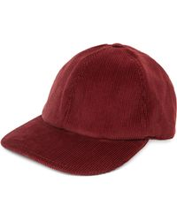 Brunello Cucinelli - Corduroy Flannel Baseball Hat - Lyst