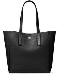 MICHAEL Michael Kors - Junie Large Pebbled Leather Tote - Lyst