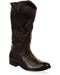 Frye | Melissa Pull-on Leather Boots | Lyst