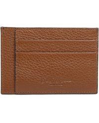 Saks Fifth Avenue - Leather Bi-color Card Case - Lyst