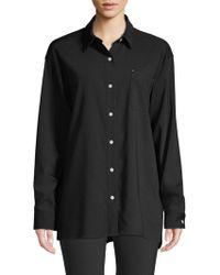 Lafayette 148 New York - Everson Stretch Wool Shirt - Lyst