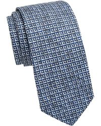 Saks Fifth Avenue - Collection Inverse Triangle Tie - Lyst