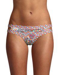 OndadeMar - Strappy Bikini Bottom - Lyst