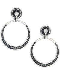 Plevé   Opus Doorknocker Drop Earrings With 3.15 Tcw Diamonds   Lyst