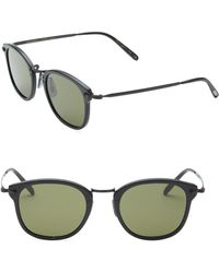 Oliver Peoples - 49mm Square Sunglasses - Lyst