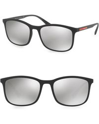 Prada - 56mm Tinted Sunglasses - Lyst