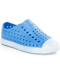 Native Shoes Kid's Jefferson Glow Slip-on Trainers - Blue - Size C7 / 7 (baby)