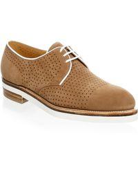 Corthay - Bayou Brogue Derby Shoe - Lyst