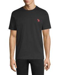 Paul Smith - Ps Razebes Embroidered Zebra T-shirt - Lyst
