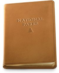 Graphic Image - Leather National Parks Journal - Lyst