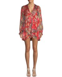 The Kooples - Bollywood Floral Dress - Lyst