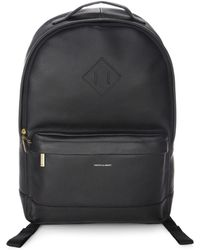 Hook + Albert | Grain Leather Expansion Backpack | Lyst