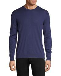 Kiton - Wool Crew Sweater - Lyst