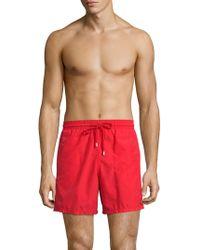 Vilebrequin | Moorea Solid Shorts | Lyst