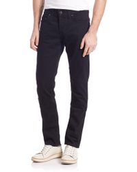 True Religion - Rocco Slim Fit Jeans - Lyst