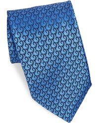 Charvet | Patterned Silk Tie | Lyst