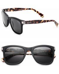 Lanvin - 53mm Square Sunglasses - Lyst