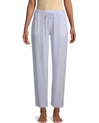 Hanro - Long Pajama Pants - Lyst