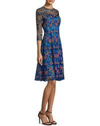 Prabal Gurung - Floral Embroidered Dress - Lyst