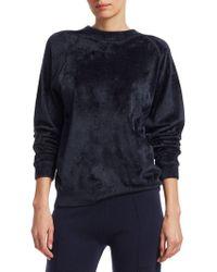 Elizabeth and James - Pearl Velvet Sweatshirt - Lyst