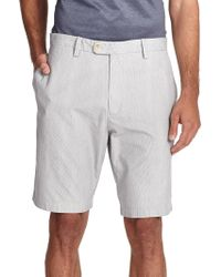 Saks Fifth Avenue - Collection Pincord Bermuda Shorts - Lyst