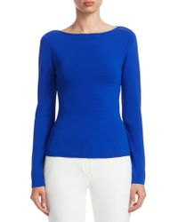 Emporio Armani | Long-sleeve Knit Sweater | Lyst