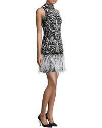 Parker Black - Marley Ivory Dress - Lyst