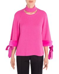 Fendi - Cashmere Fur Sweater - Lyst