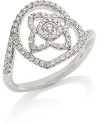 De Beers - Enchanted Lotus Diamond Ring - Lyst