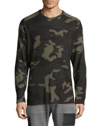 Ovadia And Sons - Magen Camouflage Tee - Lyst