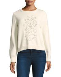 Joie - Barin Pineapple Knit Sweater - Lyst