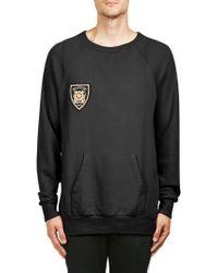 Balmain | Raglan-sleeve Cotton Sweatshirt | Lyst