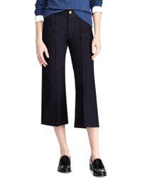 Polo Ralph Lauren   Cropped Wide-leg Pants   Lyst
