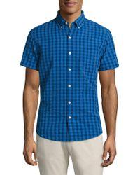 Bonobos - Slim-fit Gingham Patterned Shirt - Lyst