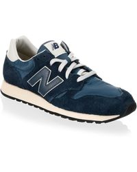 New Balance - Leather Athletic Trainers - Lyst