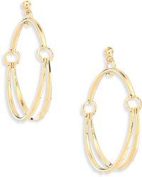 Chloé | Nile Hoop Earrings/2 | Lyst
