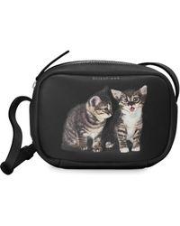 Balenciaga - Cats Everyday Leather Camera Bag - Lyst