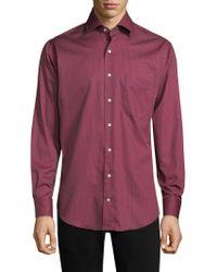 Peter Millar - Aloha Floral Print Cotton Shirt - Lyst
