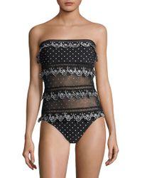 Zimmermann - Jaya Scalloped One-piece Swimsuit - Lyst