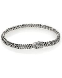 John Hardy - Classic Chain Sterling Silver Extra Small Bracelet - Lyst