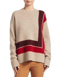 10 Crosby Derek Lam - Wool High-low Blanket Sweater - Lyst