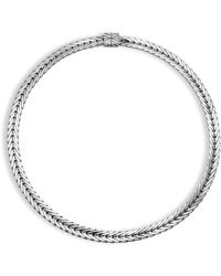 John Hardy - Modern Chain Silver Small Necklace - Lyst