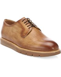 Saks Fifth Avenue - Collection By Magnanni Selo Leather Oxfords - Lyst