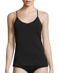 Naked - Racerback Solid Camisole - Lyst