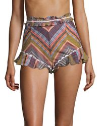 Red Carter - Marcia Striped Shorts - Lyst