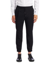 McQ - Classic Stretch Jogger Trousers - Lyst