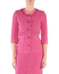 Stizzoli - Tweed-texture Jacket - Lyst