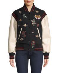 Joie - Asuna Varsity Jacket - Lyst