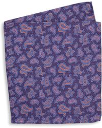 Ike Behar - Two-sided Dot Silk Pocket Square - Lyst